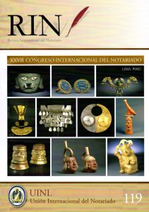Revista internacional del notario 119