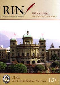 Revista internacional del notario 120