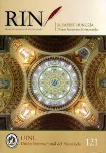 Revista internacional del notario 121